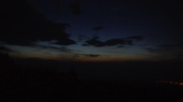 富士山夜明け前2013 08 23 04 18 59