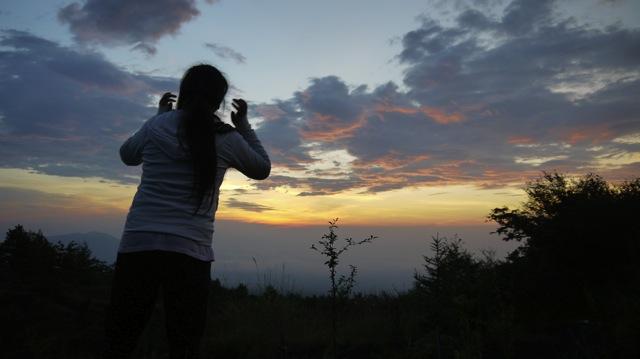 富士山夜明け2013 08 23 04 57 40