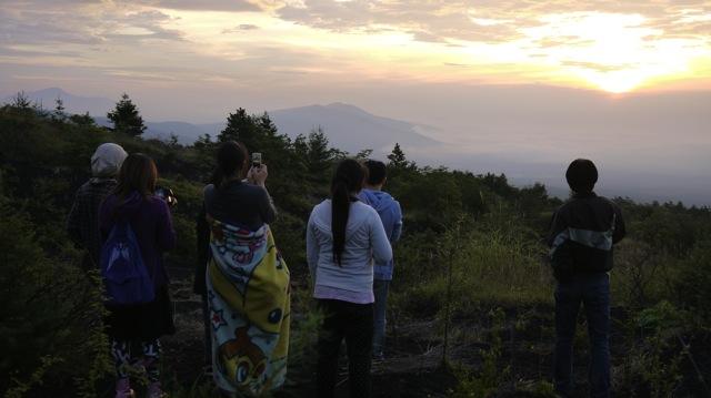 富士山夜明け2013 08 23 05 06 16